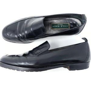 Cole Haan Italy Black Loafers 8 AA Career Comfort
